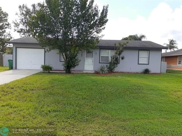 768 SW Bond Road, Port Saint Lucie, FL 34953 (MLS #F10254084) :: Berkshire Hathaway HomeServices EWM Realty