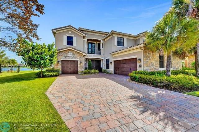 8850 Edgewater Pl, Parkland, FL 33076 (MLS #F10254138) :: Berkshire Hathaway HomeServices EWM Realty
