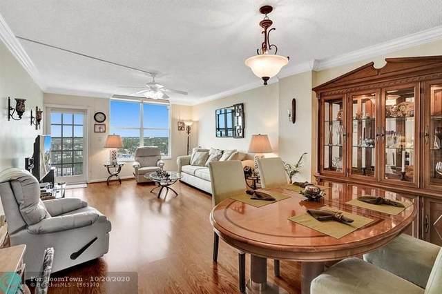 303 N Riverside Dr #904, Pompano Beach, FL 33062 (MLS #F10254165) :: Berkshire Hathaway HomeServices EWM Realty