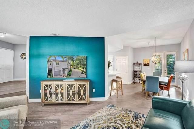 1900 Oceanwalk Ln #100, Pompano Beach, FL 33062 (MLS #F10254220) :: Berkshire Hathaway HomeServices EWM Realty