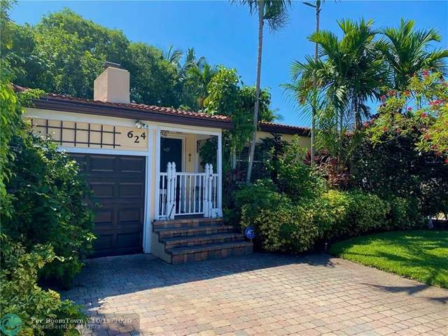624 NE 17th Way, Fort Lauderdale, FL 33304 (MLS #F10254337) :: The Howland Group
