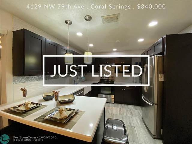 4129 NW 79th Ave, Coral Springs, FL 33065 (MLS #F10254794) :: Castelli Real Estate Services