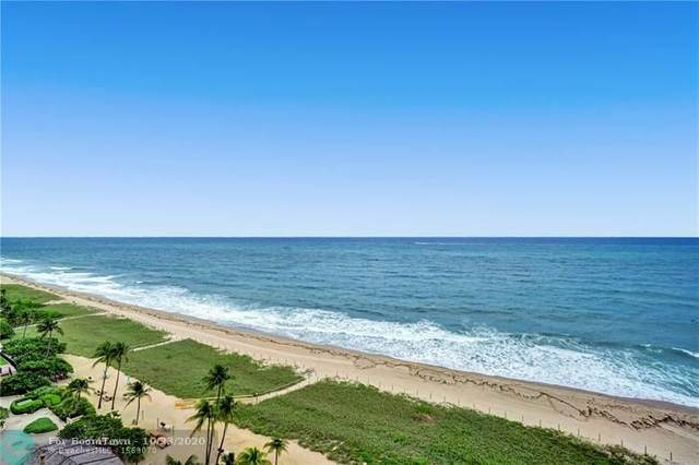 5000 N Ocean Blvd. #1412, Lauderdale By The Sea, FL 33308 (MLS #F10255302) :: The Howland Group