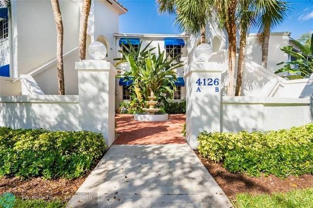 4126 W Palm Aire Drive 262B, Pompano Beach, FL 33069 (MLS #F10255380) :: Berkshire Hathaway HomeServices EWM Realty