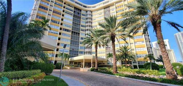 100 Golden Isles Dr #302, Hallandale, FL 33009 (MLS #F10255546) :: United Realty Group