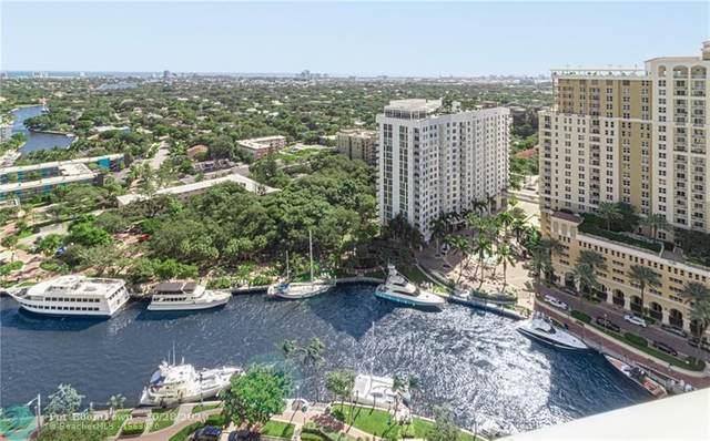 347 N New River Dr #2701, Fort Lauderdale, FL 33301 (#F10255836) :: Posh Properties