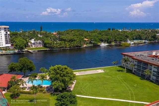 3100 NE 48th Ct #406, Lighthouse Point, FL 33064 (#F10256343) :: Posh Properties