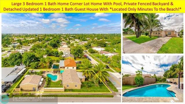 2402 Rodman St, Hollywood, FL 33020 (MLS #F10256352) :: The Howland Group