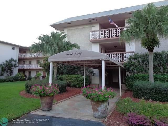 940 Hillcrest Ct #304, Hollywood, FL 33021 (MLS #F10256394) :: Dalton Wade Real Estate Group