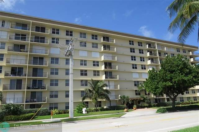 1009 N Ocean Blvd #513, Pompano Beach, FL 33062 (#F10257571) :: Baron Real Estate