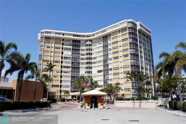100 Golden Isles Dr #809, Hallandale, FL 33009 (#F10258207) :: Posh Properties