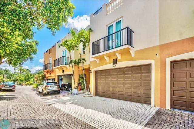 607 NE 11th Ave #607, Fort Lauderdale, FL 33304 (MLS #F10258951) :: The Howland Group