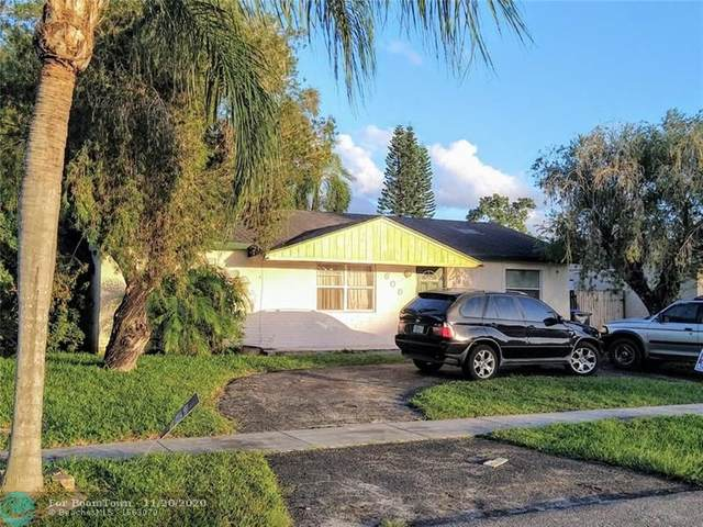 608 SW 77th Ave, North Lauderdale, FL 33068 (MLS #F10259477) :: Miami Villa Group
