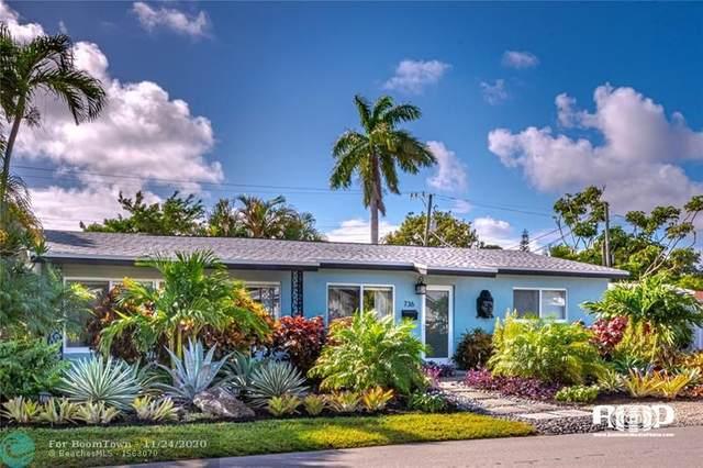 736 NE 16th St, Fort Lauderdale, FL 33304 (MLS #F10259504) :: Castelli Real Estate Services
