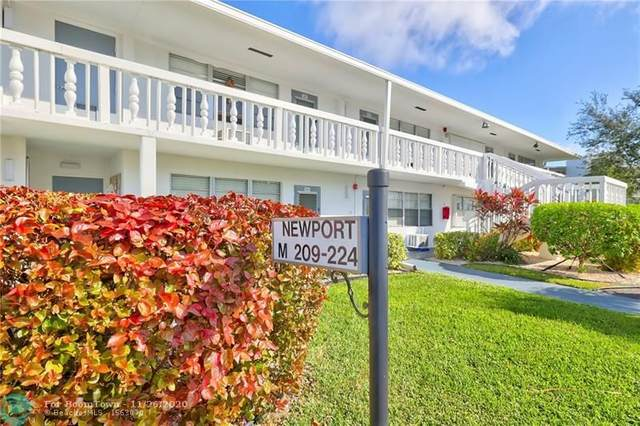 210 Newport M #210, Deerfield Beach, FL 33442 (MLS #F10259704) :: Castelli Real Estate Services