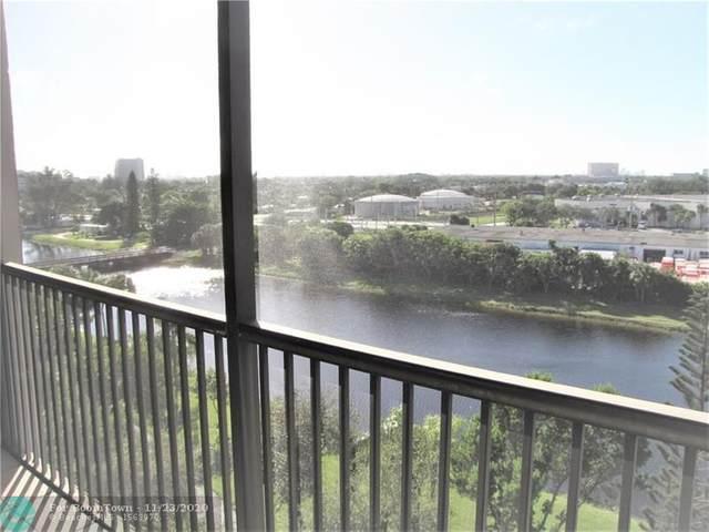 2202 S Cypress Bend Dr #803, Pompano Beach, FL 33069 (#F10259876) :: Posh Properties