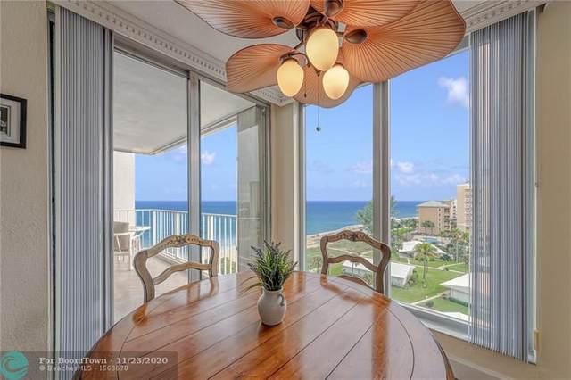 1010 S Ocean Blvd #903, Pompano Beach, FL 33062 (MLS #F10259894) :: The Jack Coden Group