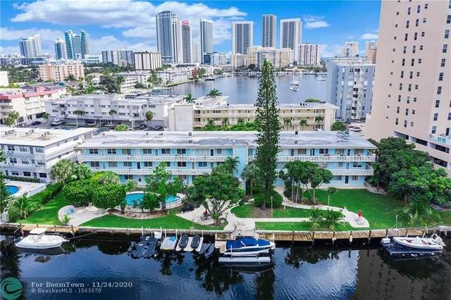 455 Golden Isles Dr #208, Hallandale Beach, FL 33009 (#F10260086) :: Ryan Jennings Group