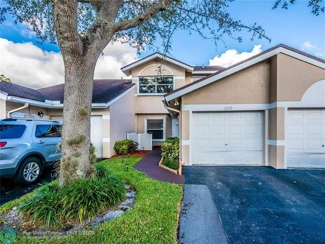 1272 W Lakes Dr #1272, Deerfield Beach, FL 33442 (MLS #F10260423) :: Castelli Real Estate Services