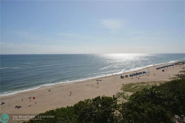 1610 N Ocean Blvd #505, Pompano Beach, FL 33062 (#F10260787) :: Ryan Jennings Group