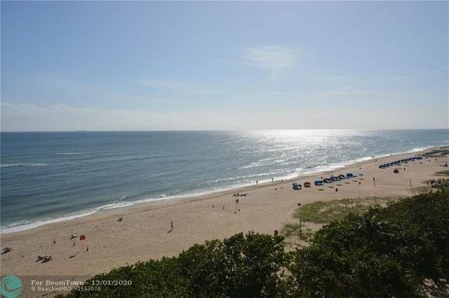 1610 N Ocean Blvd #505, Pompano Beach, FL 33062 (#F10260797) :: Ryan Jennings Group