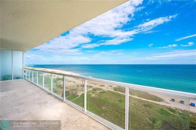 704 N Ocean Blvd #801, Pompano Beach, FL 33062 (MLS #F10261031) :: United Realty Group