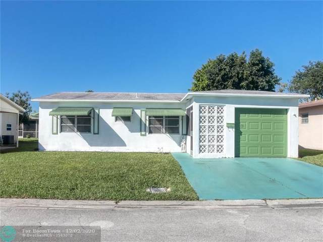 1095 NW 66th Ter, Margate, FL 33063 (MLS #F10261075) :: United Realty Group