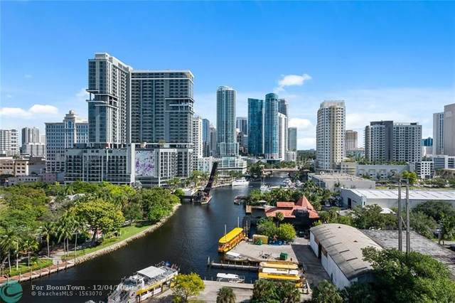 401 SW 4th Ave #1401, Fort Lauderdale, FL 33315 (MLS #F10261365) :: Green Realty Properties