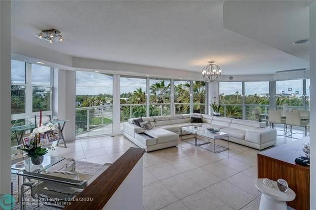 6001 N Ocean Drive #402, Hollywood, FL 33019 (MLS #F10262157) :: The Howland Group