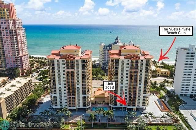 2001 N Ocean Blvd #203, Fort Lauderdale, FL 33305 (MLS #F10262375) :: Green Realty Properties