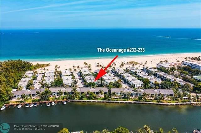 1612 S Ocean Ln 232-233, Fort Lauderdale, FL 33316 (#F10262729) :: Baron Real Estate