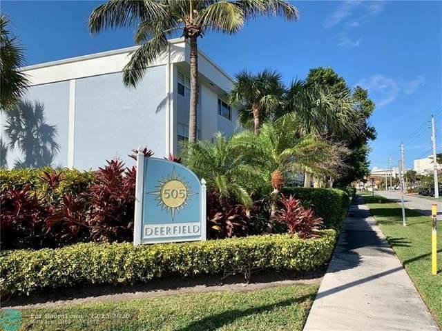 505 NE 20th Ave #113, Deerfield Beach, FL 33441 (MLS #F10262814) :: Castelli Real Estate Services