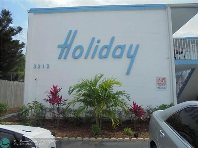 3212 NE 7th Pl #9, Pompano Beach, FL 33062 (MLS #F10262902) :: Green Realty Properties
