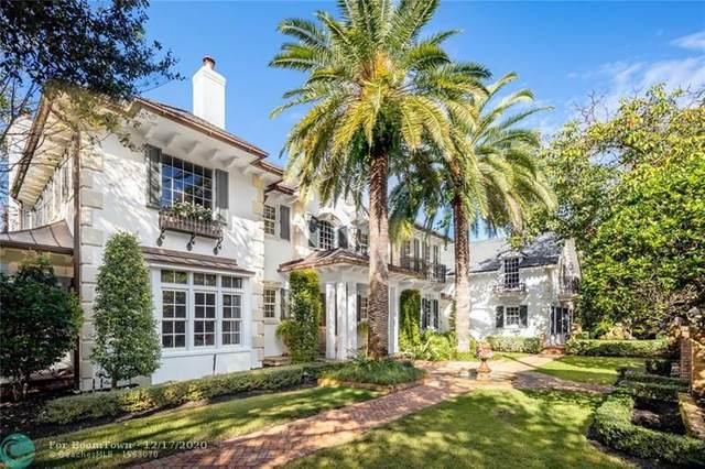 1549 Ponce De Leon Dr, Fort Lauderdale, FL 33316 (MLS #F10262985) :: The Howland Group