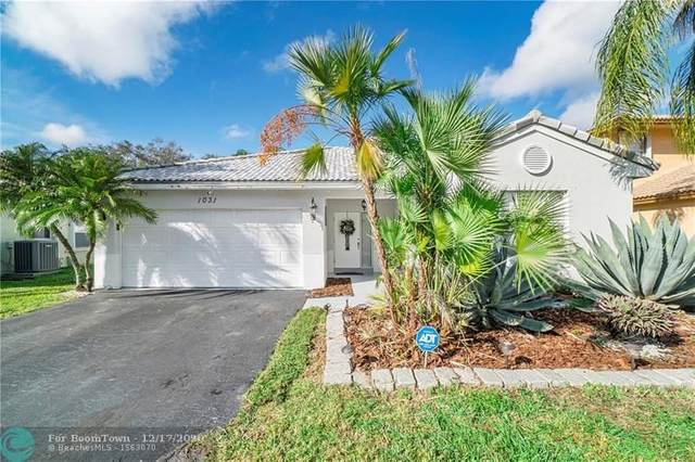 1031 NW 125TH TE, Sunrise, FL 33323 (MLS #F10263052) :: THE BANNON GROUP at RE/MAX CONSULTANTS REALTY I