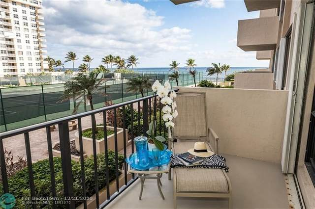 5100 N Ocean Blvd #406, Lauderdale By The Sea, FL 33308 (#F10263539) :: Posh Properties