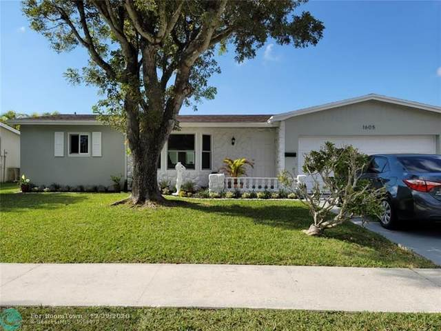 1605 NW 66th Ave, Margate, FL 33063 (MLS #F10264078) :: Laurie Finkelstein Reader Team
