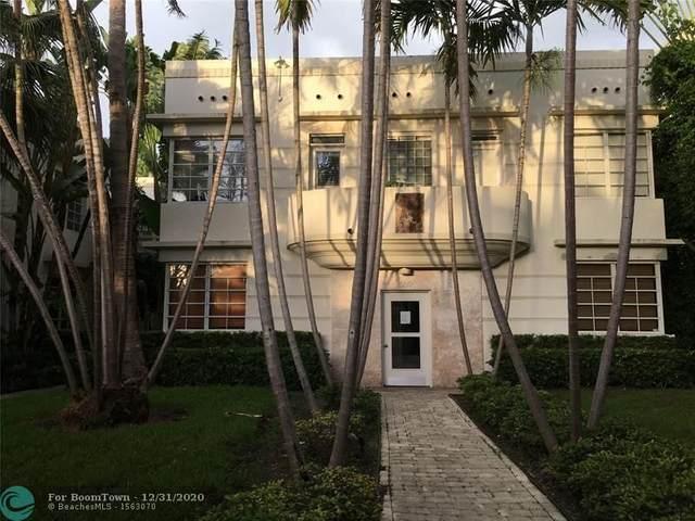 1569 Michigan Ave #13, Miami Beach, FL 33139 (MLS #F10264467) :: Green Realty Properties