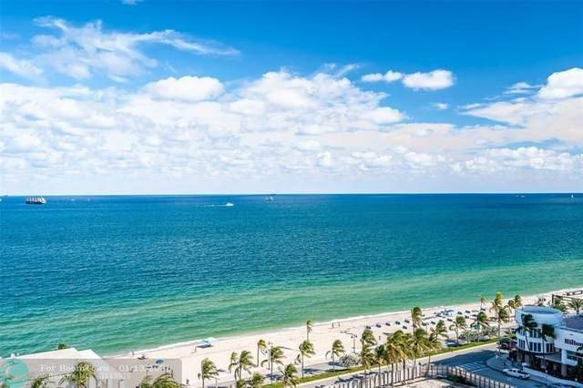 551 N Fort Lauderdale Beach Blvd #1407, Fort Lauderdale, FL 33304 (#F10264907) :: Baron Real Estate