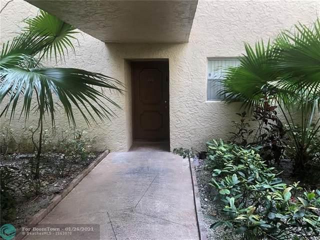 3100 Riverside Dr #110, Coral Springs, FL 33065 (MLS #F10265669) :: Green Realty Properties