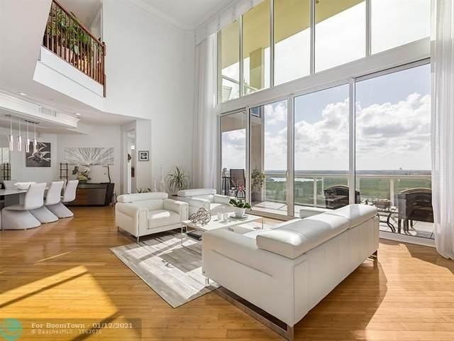 6001 N Ocean Dr Ph-3, Hollywood, FL 33019 (#F10265689) :: Posh Properties
