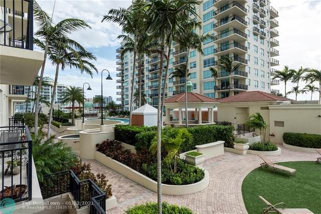 610 W Las Olas Blvd #811, Fort Lauderdale, FL 33312 (MLS #F10265785) :: Green Realty Properties