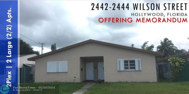 2442 Wilson St, Hollywood, FL 33020 (#F10265802) :: The Power of 2 | Century 21 Tenace Realty