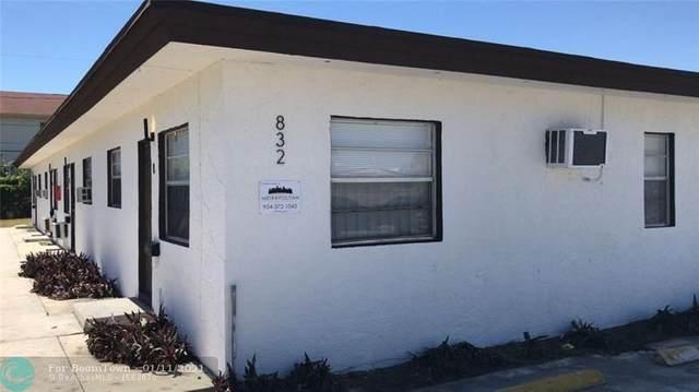 832 NW 10th St, Hallandale Beach, FL 33009 (#F10265908) :: Posh Properties