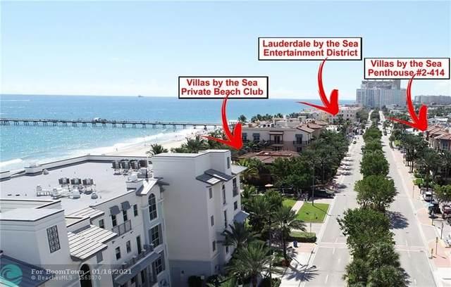 4445 El Mar Dr #414, Lauderdale By The Sea, FL 33308 (MLS #F10266201) :: Castelli Real Estate Services