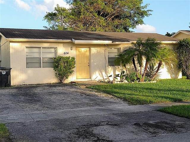 604 SW 77th Ave, North Lauderdale, FL 33068 (#F10266786) :: Posh Properties