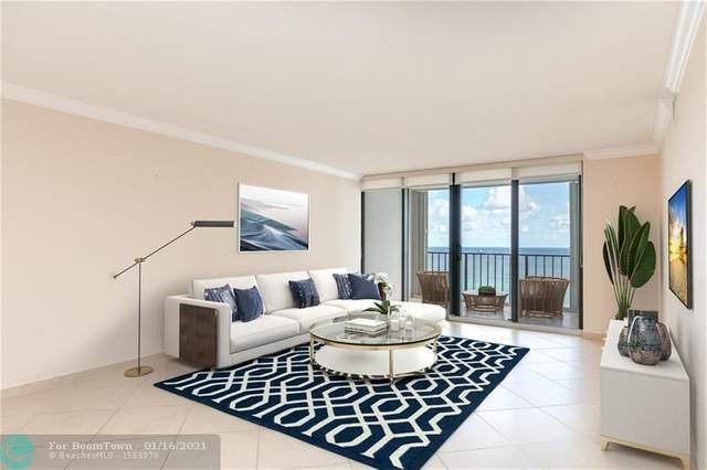 2401 S Ocean Dr #2101, Hollywood, FL 33019 (#F10266858) :: Exit Realty Manes Group