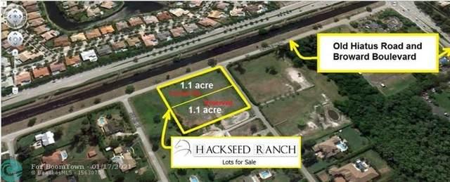 11201 NW 4th Street, Plantation, FL 33325 (MLS #F10267022) :: Berkshire Hathaway HomeServices EWM Realty