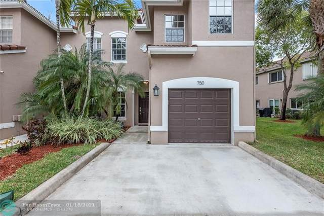 750 NW 132nd Ter #5, Plantation, FL 33325 (MLS #F10267072) :: Dalton Wade Real Estate Group