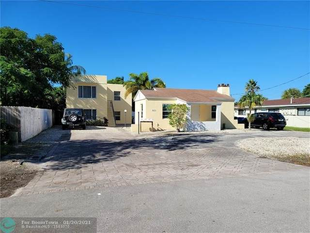 3661 NE 11th Ave, Oakland Park, FL 33334 (#F10267434) :: Posh Properties